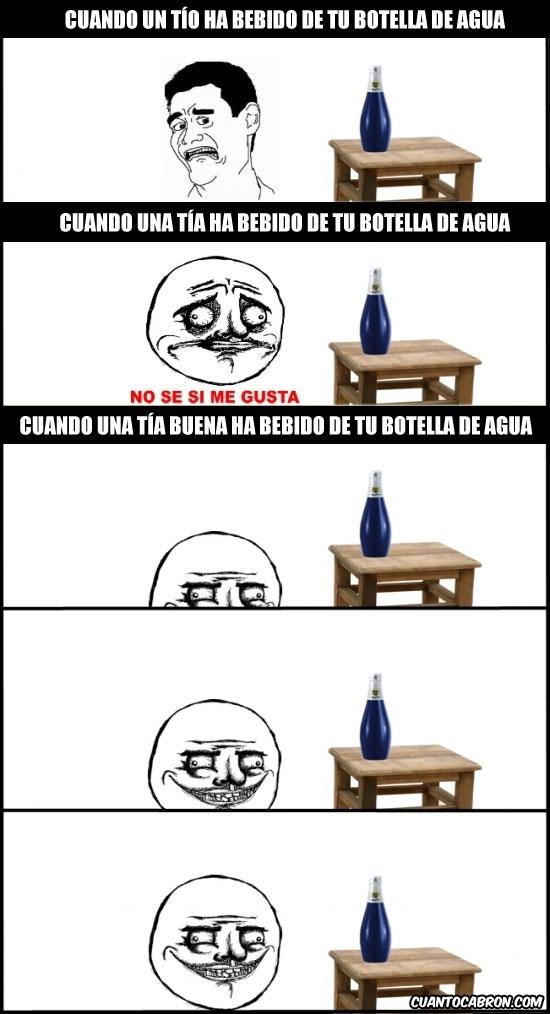 Otros - Cuando beben de tu botella de agua