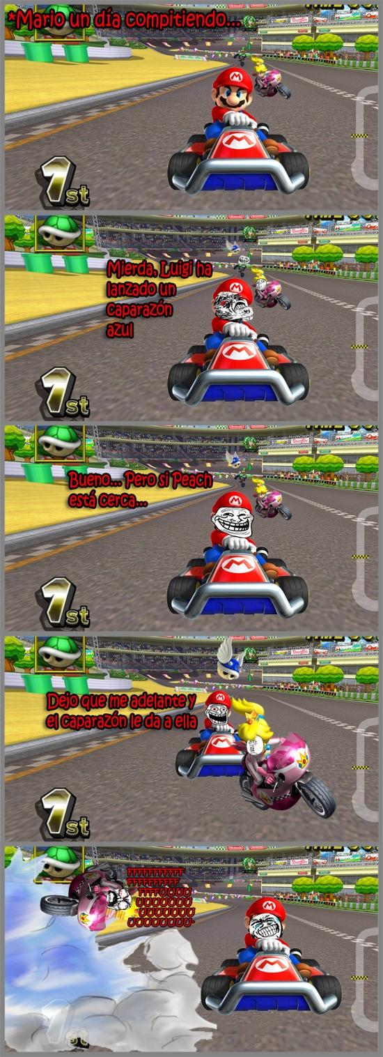 Mix - Mario trolleando a Peach