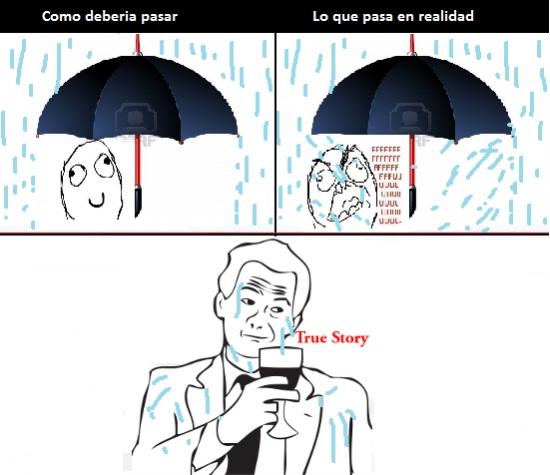 Ffffuuuuuuuuuu - Estos paraguas mal hechos