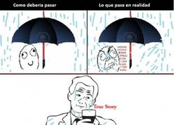 Enlace a Estos paraguas mal hechos