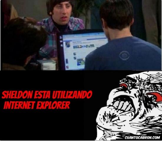 facebook,internet  explorer,portatil,raisins,television,the big bang theory