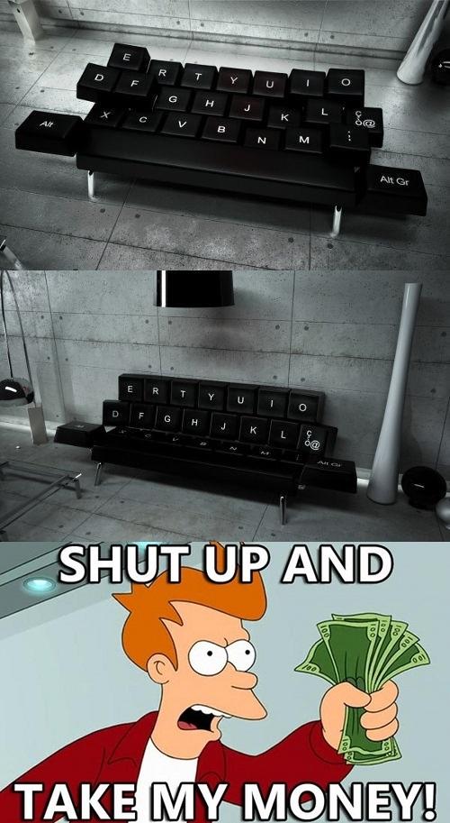 Fry - El sofá de todo informático