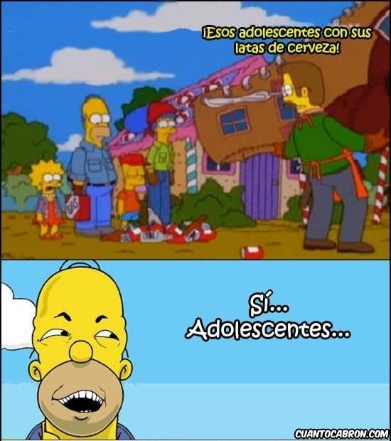 Si_claro - Homer siendo Homer