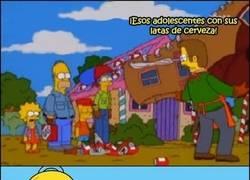 Enlace a Homer siendo Homer