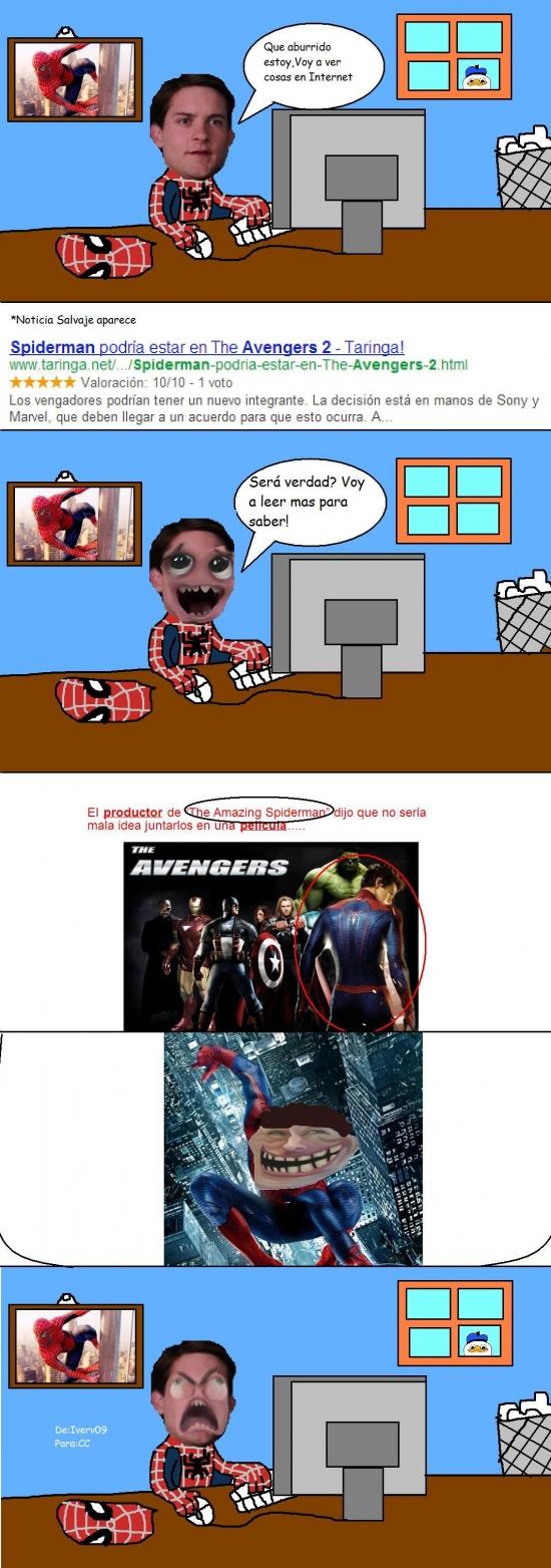 Ffffuuuuuuuuuu - Pobre spiderman