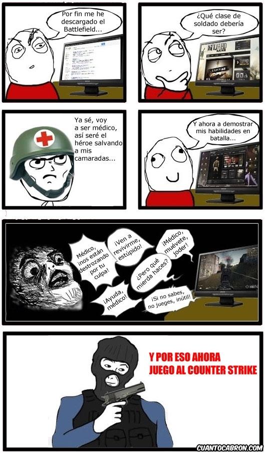 Otros - Ser médico en el Battlefield