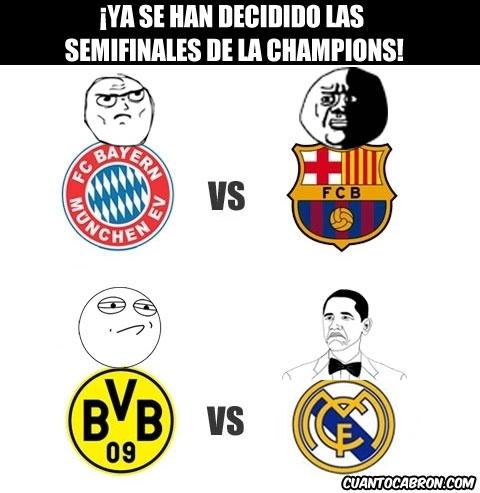 Mix - ¡Ya se han decidido las semifinales de la Champions!