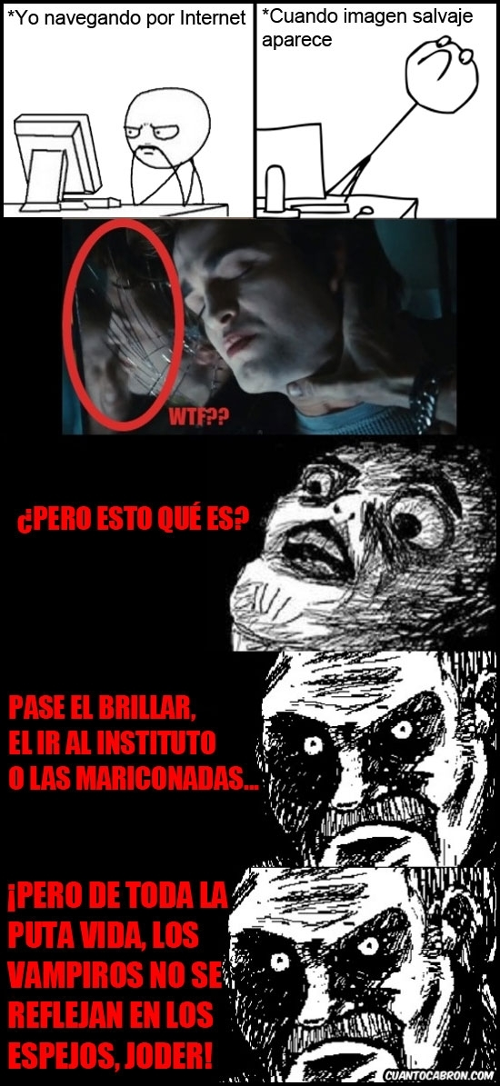 Mirada_fija - ¿Vampiros en los espejos?