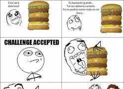 Enlace a Los problemas de las hamburguesas gigantes