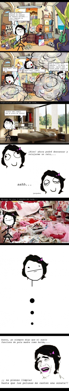 Yao - Limpiar la habitación