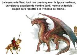 Enlace a Y esta es la leyenda de Sant Jordi...