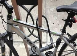 Enlace a Ahora sí, la bicicleta está a salvo de todo peligro...
