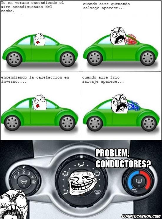 Ffffuuuuuuuuuu - Nada es más troll en esta vida que el sistema de ventilación del coche