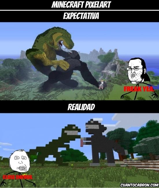 Mix - Pixelart en Minecraft