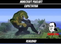 Enlace a Pixelart en Minecraft