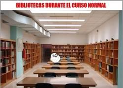 Enlace a Bibliotecas según la situación