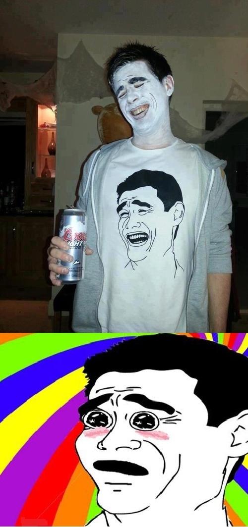 Amazed - Yao Ming, de persona real a meme, de meme a personal real disfrazada de meme...