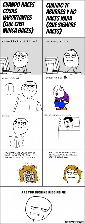 Kidding_me - Las madres siempre buscan el peor momento
