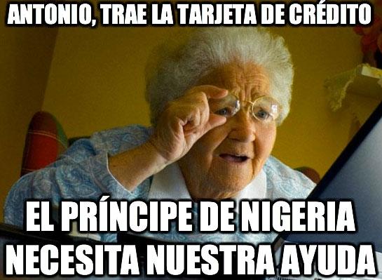 Abuela_sorprendida_internet - Antonio, trae la tarjeta de crédito