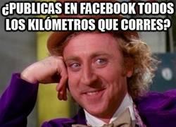 Enlace a ¿Publicas en facebook todos los kilómetros que corres?