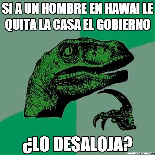 Philosoraptor - Dudas hawaianas