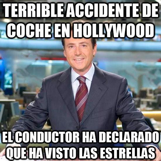 accidente,coche,conductor,declarado,estrellas,hollywood,matias prats
