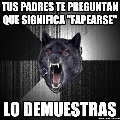 Lobo_demente - El lobo demente, hagas lo que hagas, ¡hazlo a lo loco!