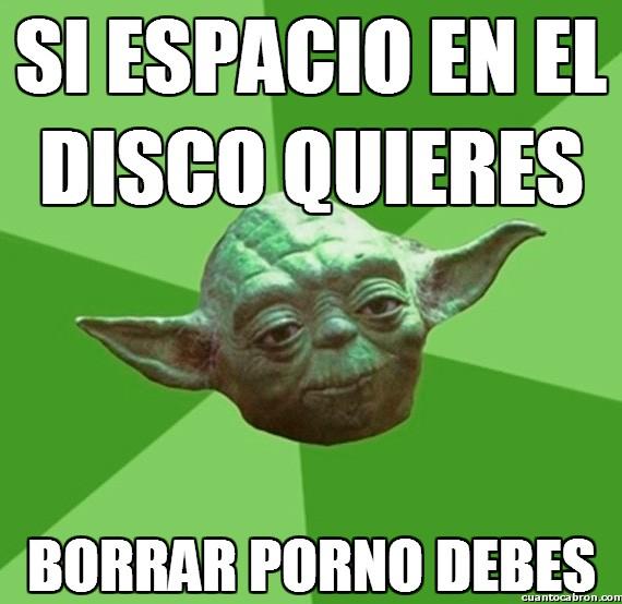 Consejos_yoda_da - Haz caso a Yoda, sabe lo que se hace