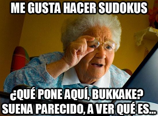 Abuela_sorprendida_internet - Me gusta hacer sudokus