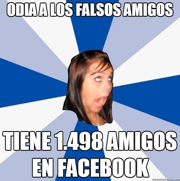 Amiga_facebook_molesta - Odia a los falsos amigos