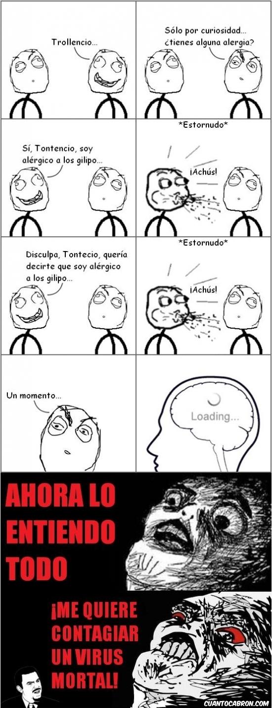 Inglip - La alergia a los gilipollas