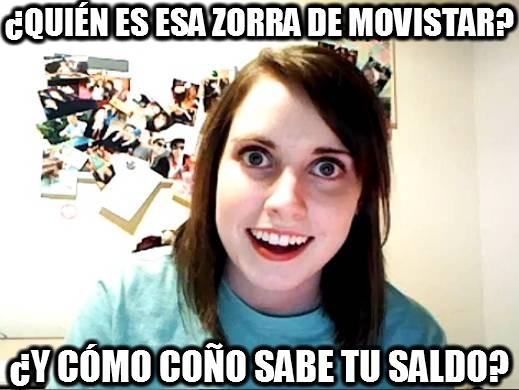 Novia_obsesiva - ¿Quién es esa zorra de Movistar?