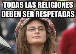 Enlace a El máximo predicador del respeto a todas las religiones, ¿verdad?