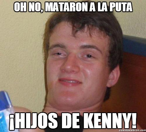 kenny,mataron a kenny,south park