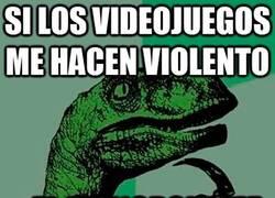 Enlace a Si los videojuegos me hacen violento...