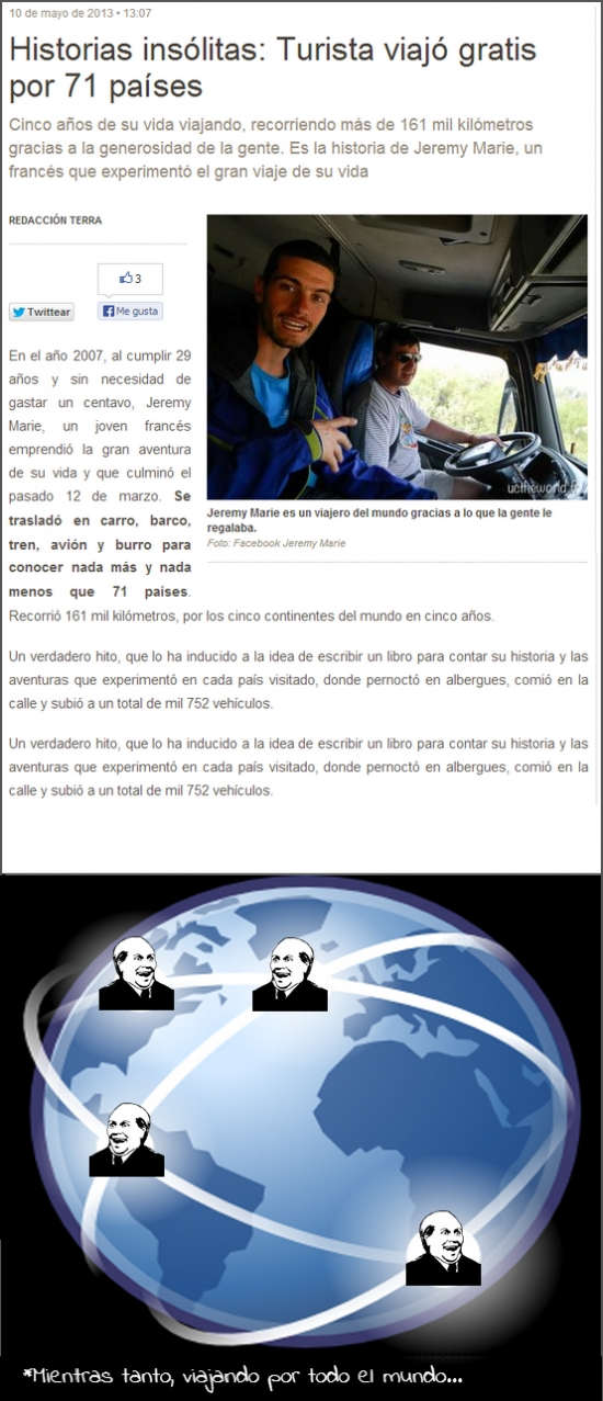 Its_free - ¿Viajar gratis por el mundo?