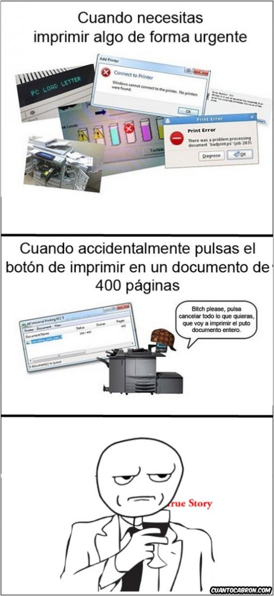 Kidding_me - ¿Hay algo más troll que una impresora?