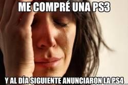 Enlace a Me compré una PS3