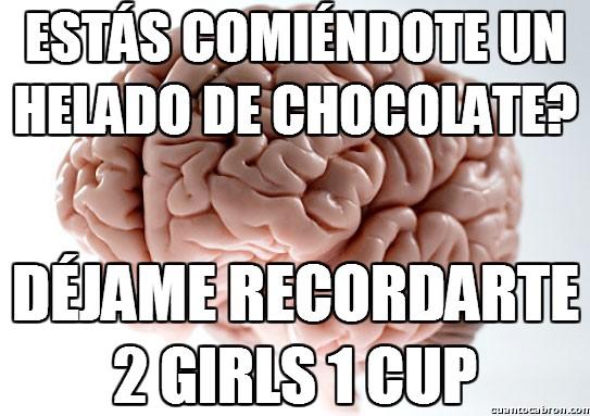 Cerebro_troll - Qué rico helado...
