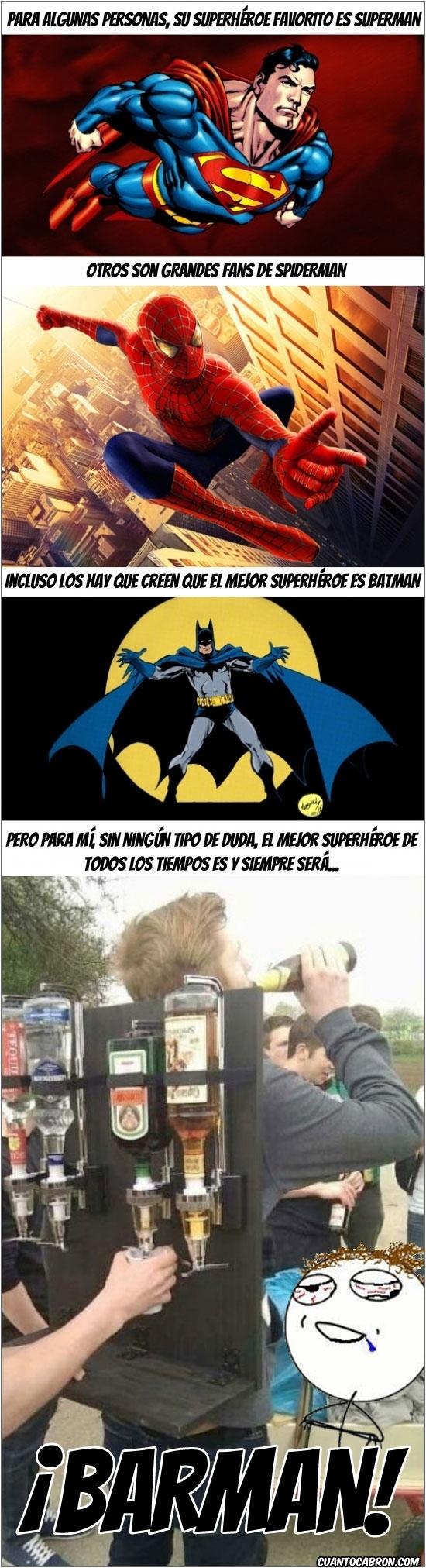 Otros - Mi superhéroe favorito es...