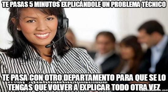 Meme_otros - Teleoperadoras, causantes de las frustraciones más chungas de la humanidad