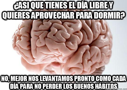 Cerebro_troll - Asi que tienes el día libre...