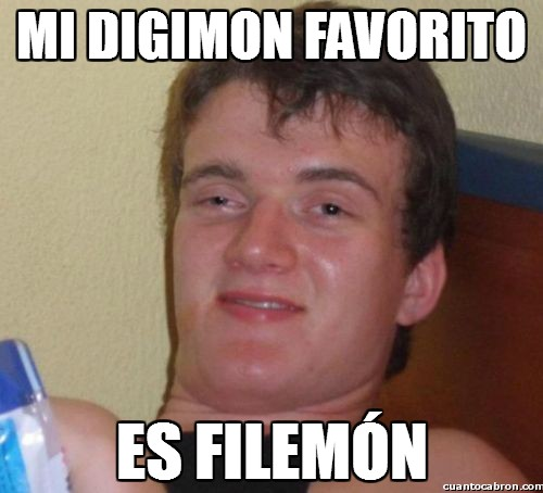 Colega_fumado - Mi digimon favorito