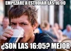 Enlace a Empezaré a estudiar las 16:00