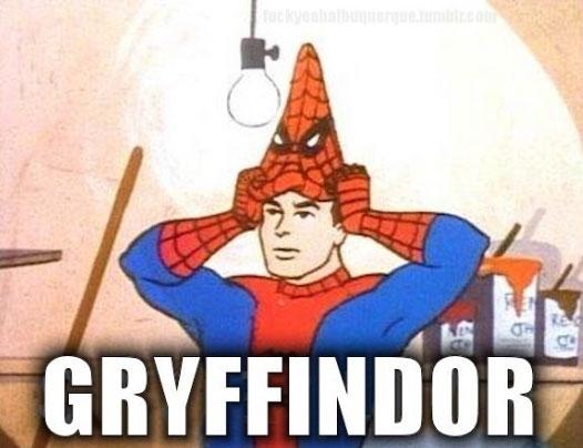 Spiderman60s - ¿Spiderman en Hogwarts?