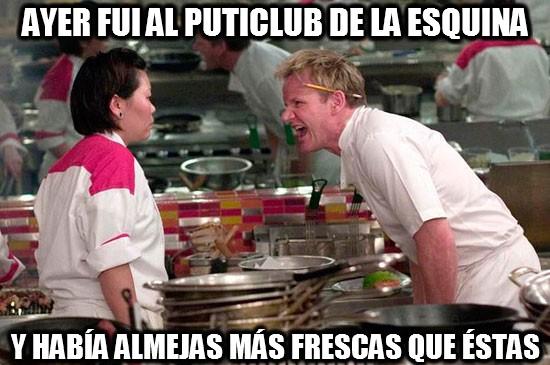 Chef_ramsay - Almejas frescas