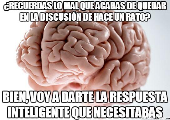cerebro troll,discusión,inteligente,respuesta