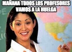 Enlace a Mañana todos los profesores vamos a la huelga