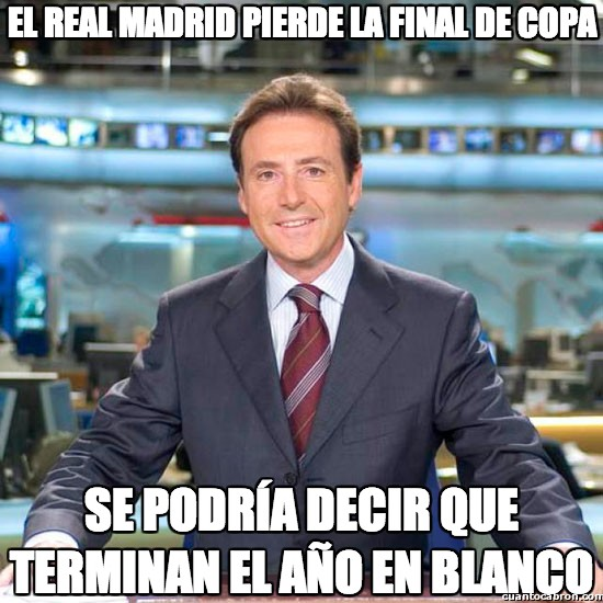 Meme_matias - El Real Madrid pierde la final de copa