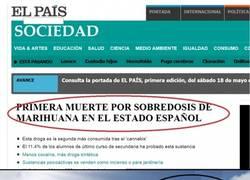 Enlace a Primera muerte por sobredosis de marihuana en el estado español